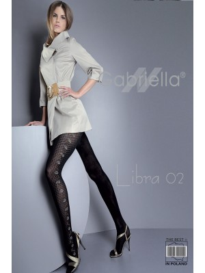 Dresuri dama Gabriella, Libra 02,  60 den -G445/446.