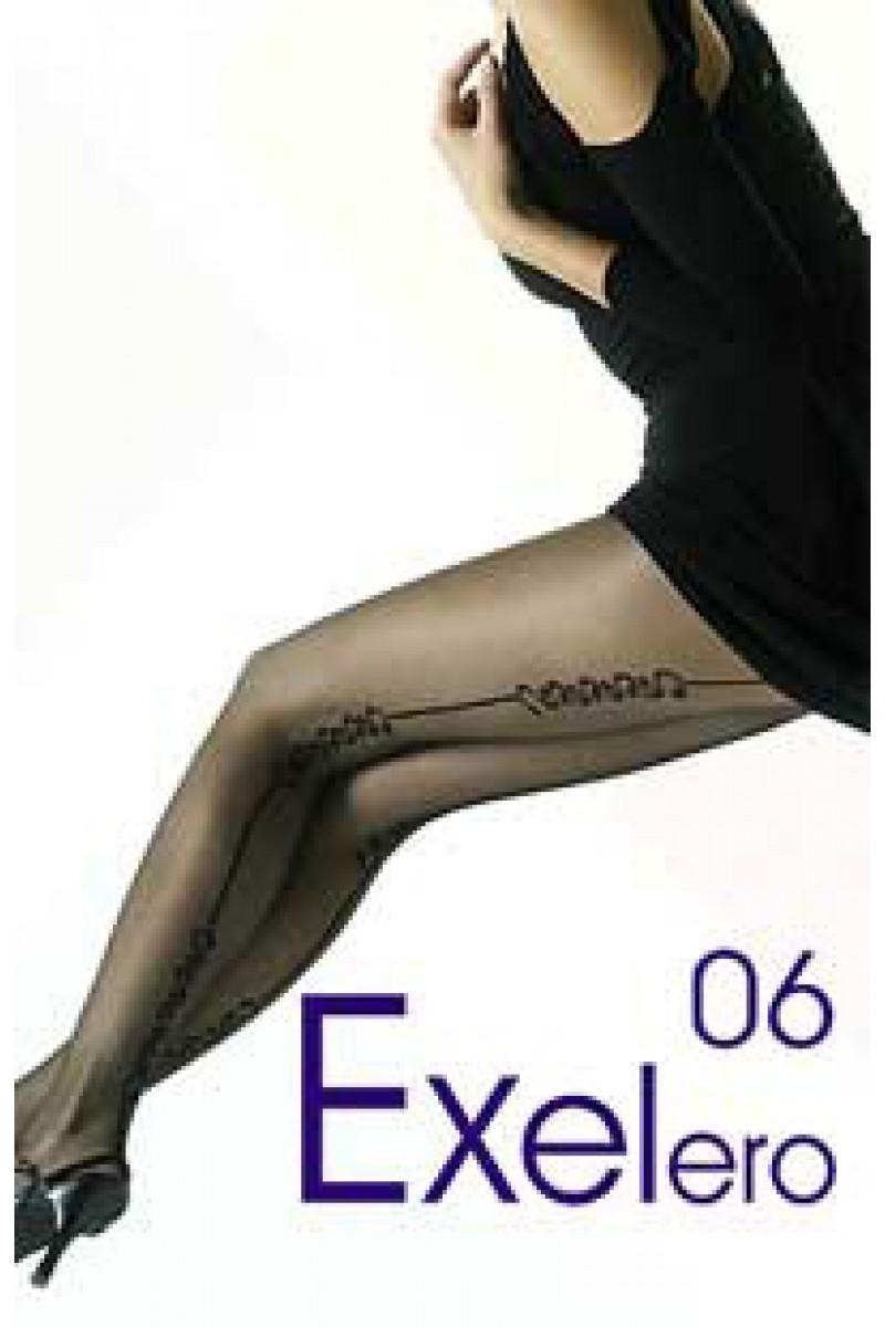 Ciorapi de dama cu model, Gabriella Exelero 06, 20 den (măsura 2, 3)