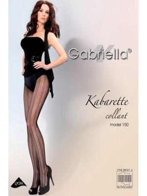 Ciorapi de dama, Gabriella Kabarette, model 150 Plasă (măsura 1/2, 3/4)