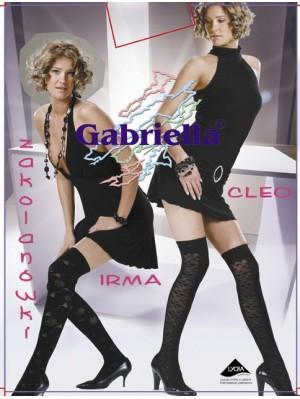 Sosete peste genunchi, Gabriella Cleo cu model, 60 den -G152/153.