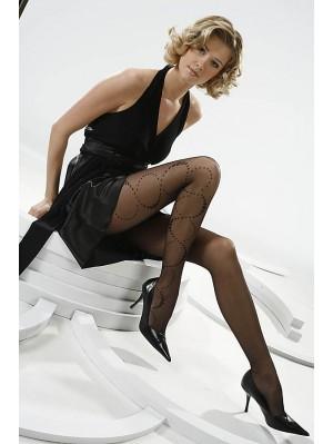 Ciorapi de dama cu model, Gabriella Mirage 02, 20 den (măsura 2, 3, 4)