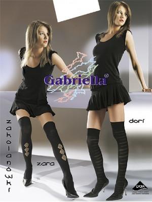 Sosete peste genunchi, Gabriella Dori cu model, 60 den -G152/150