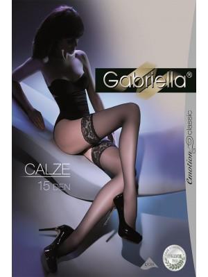 Ciorapi cu banda adeziva, Calze Clasic 15 den -G200..
