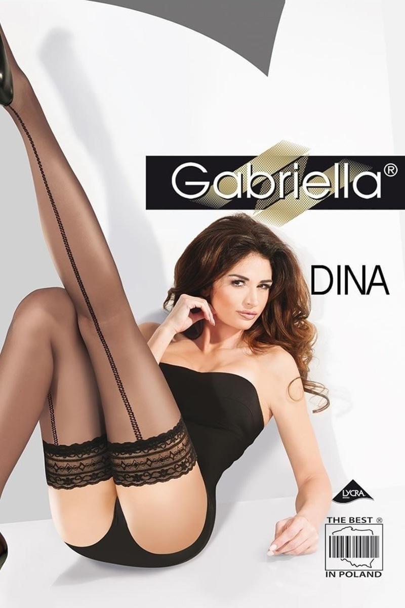 Ciorapi cu banda adeziva, Calze Dina 20 den -G212.