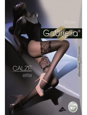 Ciorapi cu banda adeziva, Elite Calze 20 den (măsura 1/2, 3/4).