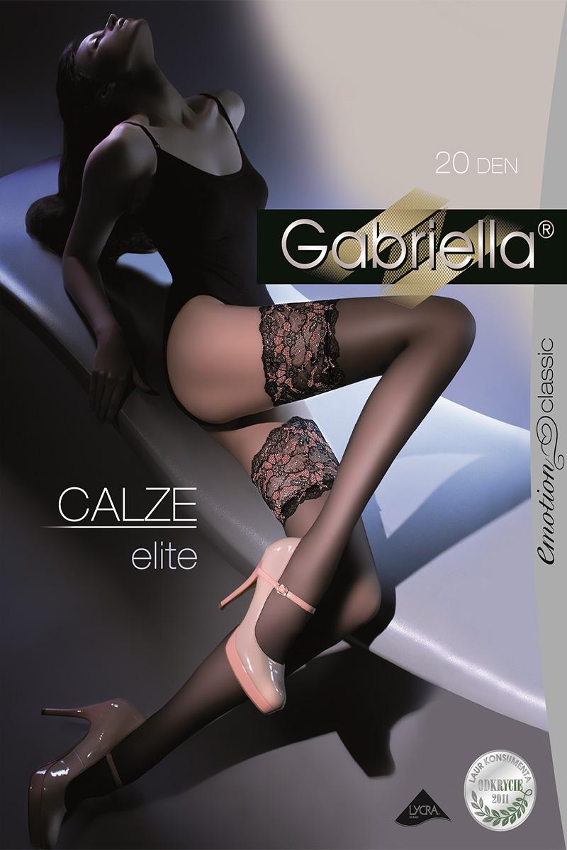 Ciorapi cu banda adeziva, Elite Calze 20 den -G204.
