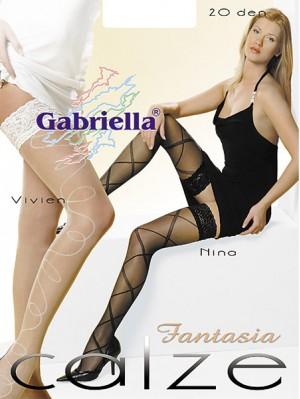 Ciorapi cu banda adeziva, Vivien/Nina/ Fantasia-Calze 20 den -G211/210.
