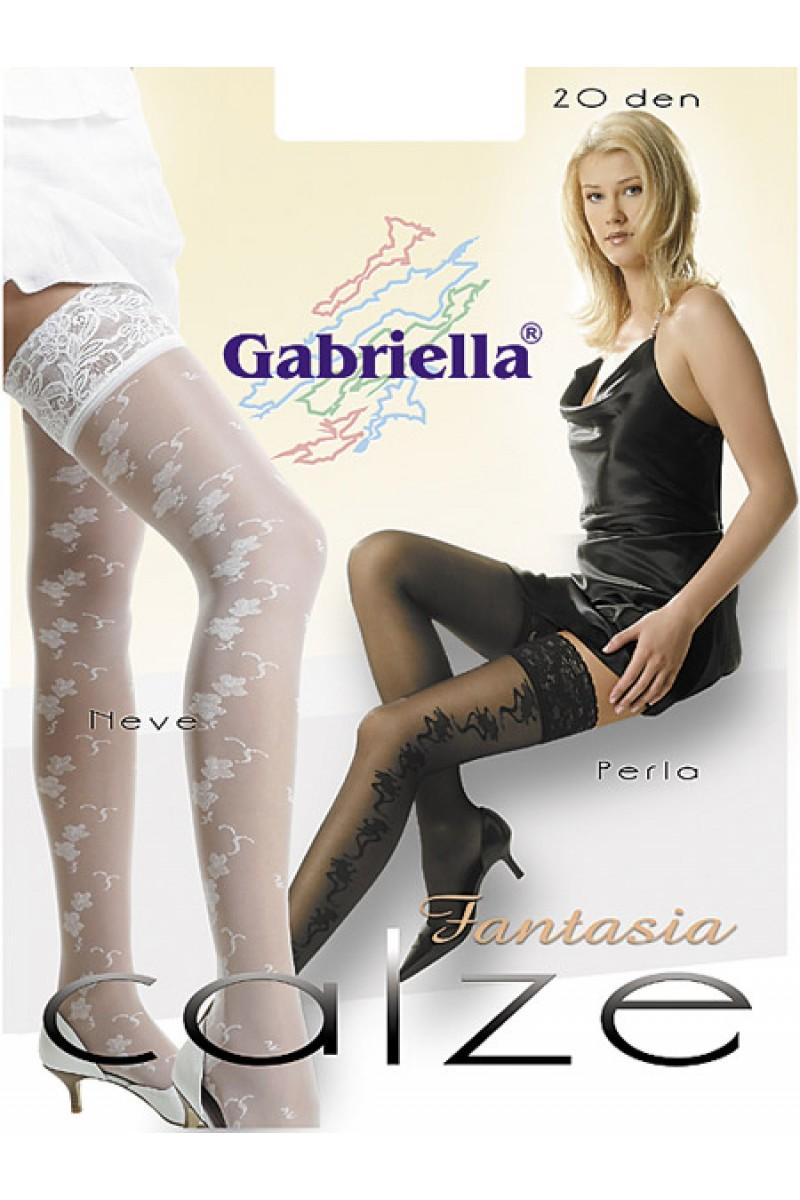Ciorapi cu banda adeziva, Perla /Fantasia Calze 20 den -G211.