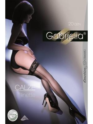 Ciorapi cu banda adeziva, Calze Linette 20 den -G203.