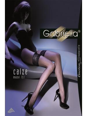 Ciorapi cu banda adeziva-Calze Plasa, model 151 -G221.