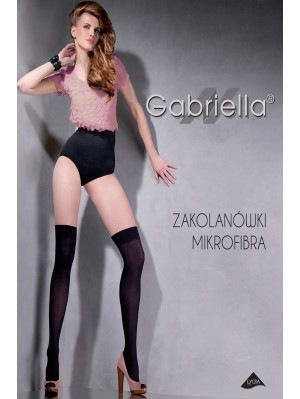 Sosete peste genunchi, Gabriella Clasic, 40 den (măsuri: 1/2, 3/4)