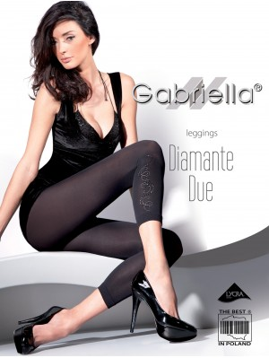 Colanți Gabriella, Leggings Diamante Due, 60 den (măsuri: 1/2, 3/4)