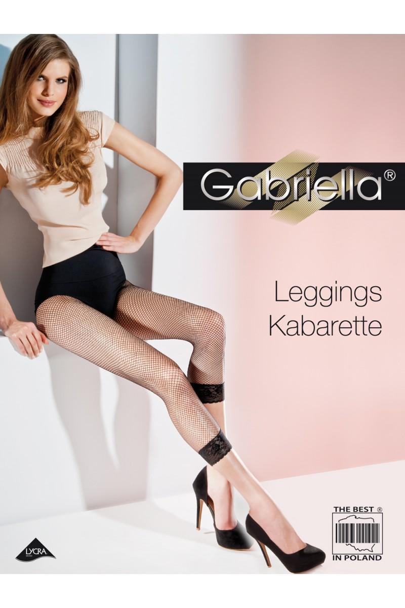 Colanți Gabriella, Leggings Plasă -G143.