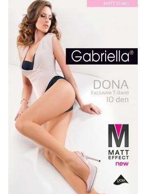 Ciorapi de dama subtiri, Gabriella mat-Dona, 10 den (măsuri: 2, 3, 4)