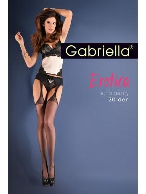 Ciorapi de dama Gabriella, Erotica Strip Panty 20 den -G235.