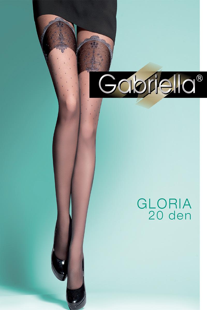 Dresuri dama Gabriella cu model,  Gloria 20 den -G312.