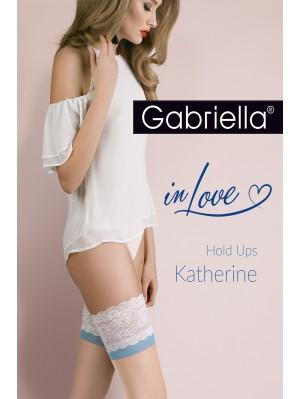 Ciorapi cu banda adeziva, Calze Katherine 15 den -G473/K