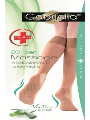 Șosete 3/4 Gabriella, Medica Massage 20 den -G502.