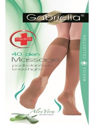 Șosete 3/4 Gabriella, Medica Massage 40 den -G503