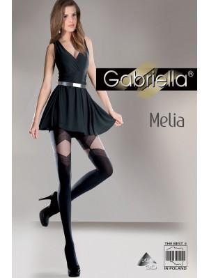Dresuri de dama groase, Gabriella Melia cu model, 60 den (măsura 2, 3, 4)