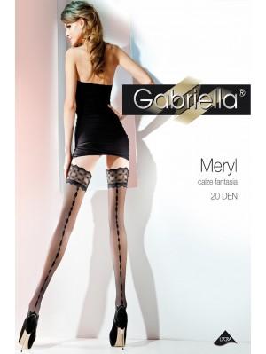 Ciorapi cu banda adeziva, Meryl-Calze Fantasia 20 den -G224.