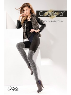 Dresuri de dama groase cu model,Gabriella Nola, 200 den (măsura 2)