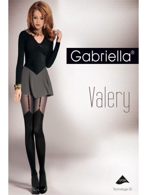 Ciorapi de dama, Gabriella Valery cu model, 40 den (măsura 2, 3, 4)