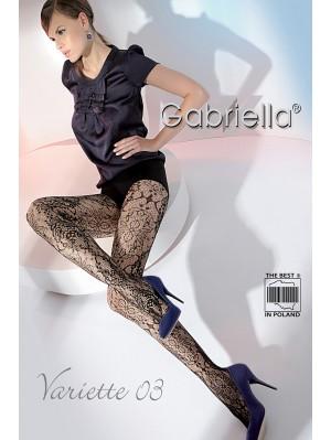 Ciorapi de dama, Gabriella Variette 03 Plasă (măsura 1/2)