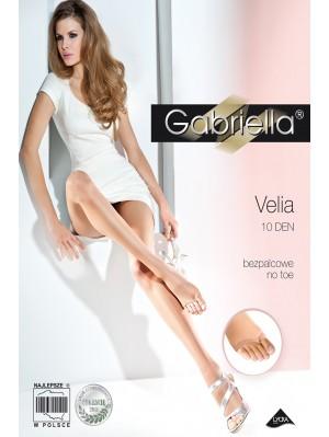 Ciorapi de dama subtiri, Gabriella Velia 10 den (măsuri: 2, 3, 4)