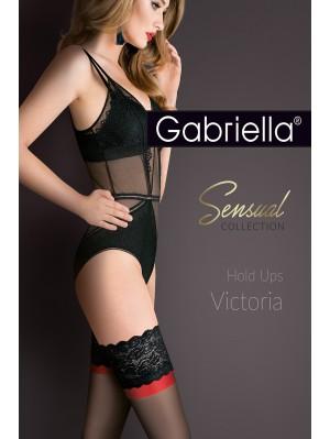 Ciorapi cu banda adeziva, Calze Victoria 15 den - G474.